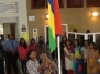 FLAG RAISING CEREMONY AT THE DISTRICT COUNCIL OF BLACK RIVER ON WEDNESDAY 11 MARCH 2015
