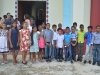 Mass celebration at anse Boileau Church